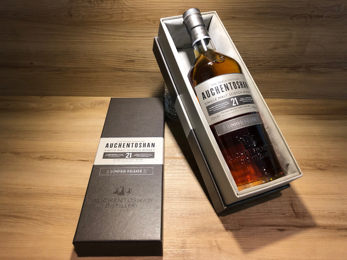 ScotchSense, Auchentoshan 21Jahre, limited release, Tastingset von Scotch Sense