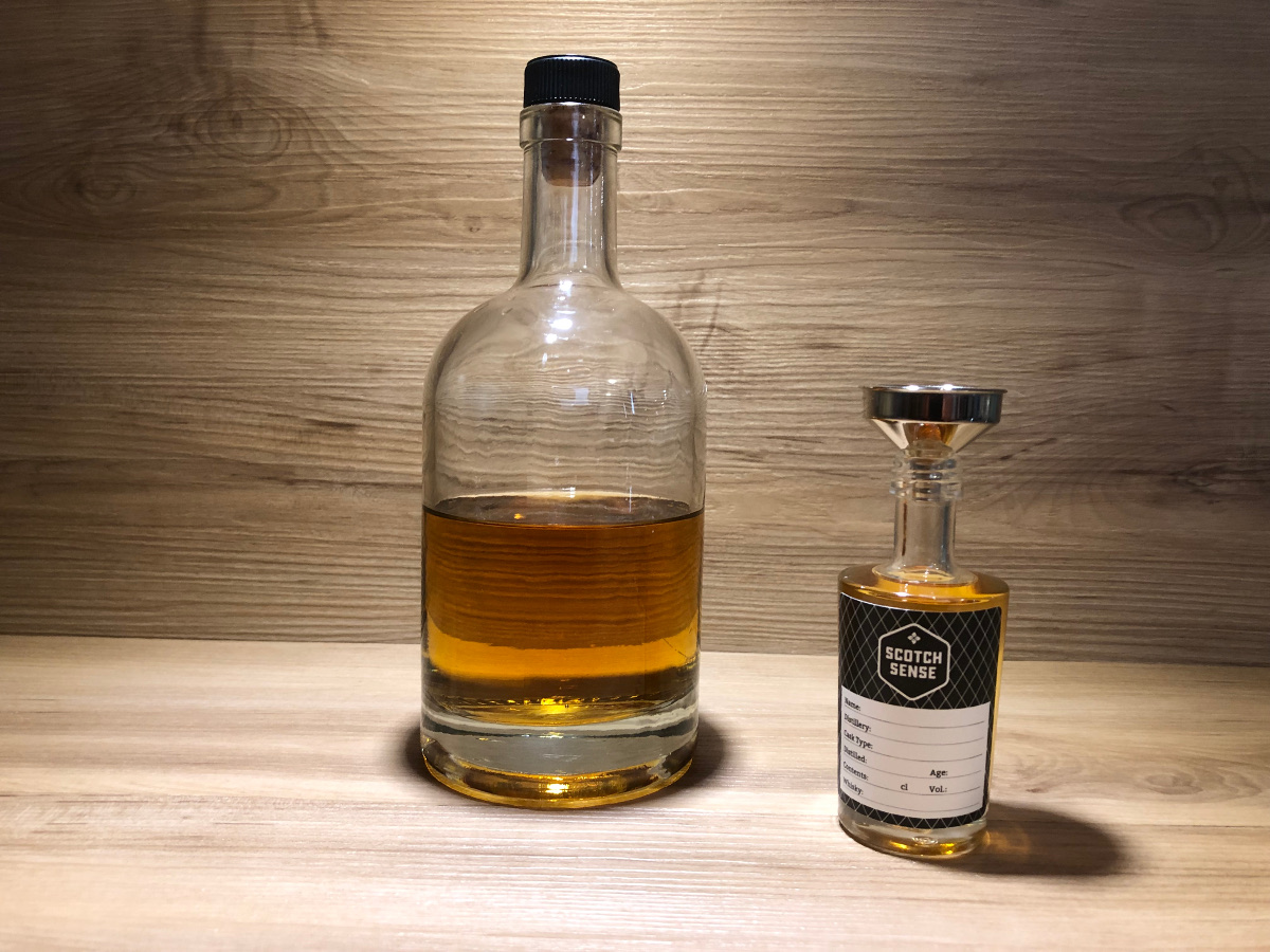 ScotchSense, Probierflasche, Tormore 23y, limited, Bourbon Single Cask, schottischer Whisky, Speyside
