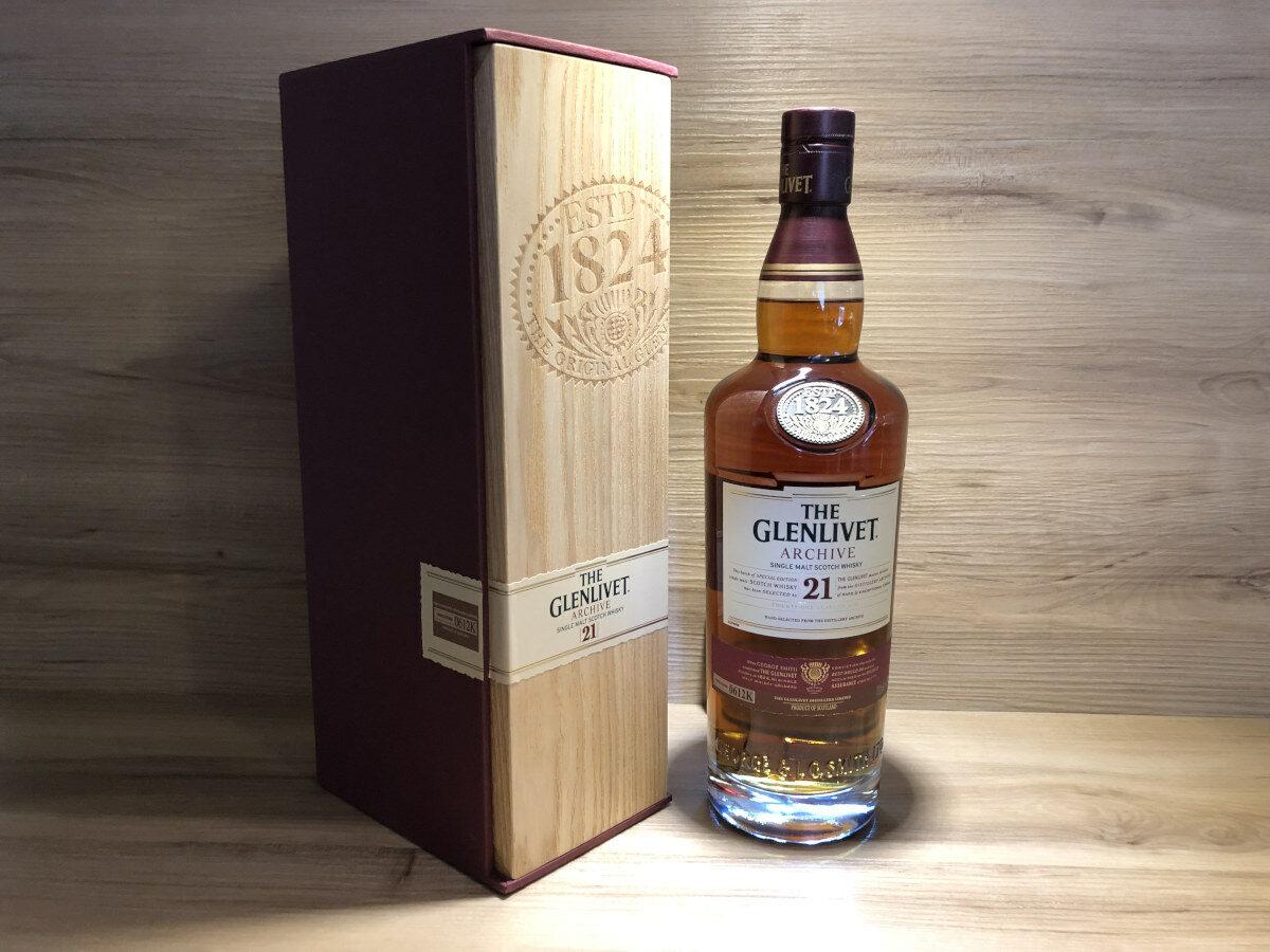 Glenlivet 21 Archive Scotch Sense Rarität