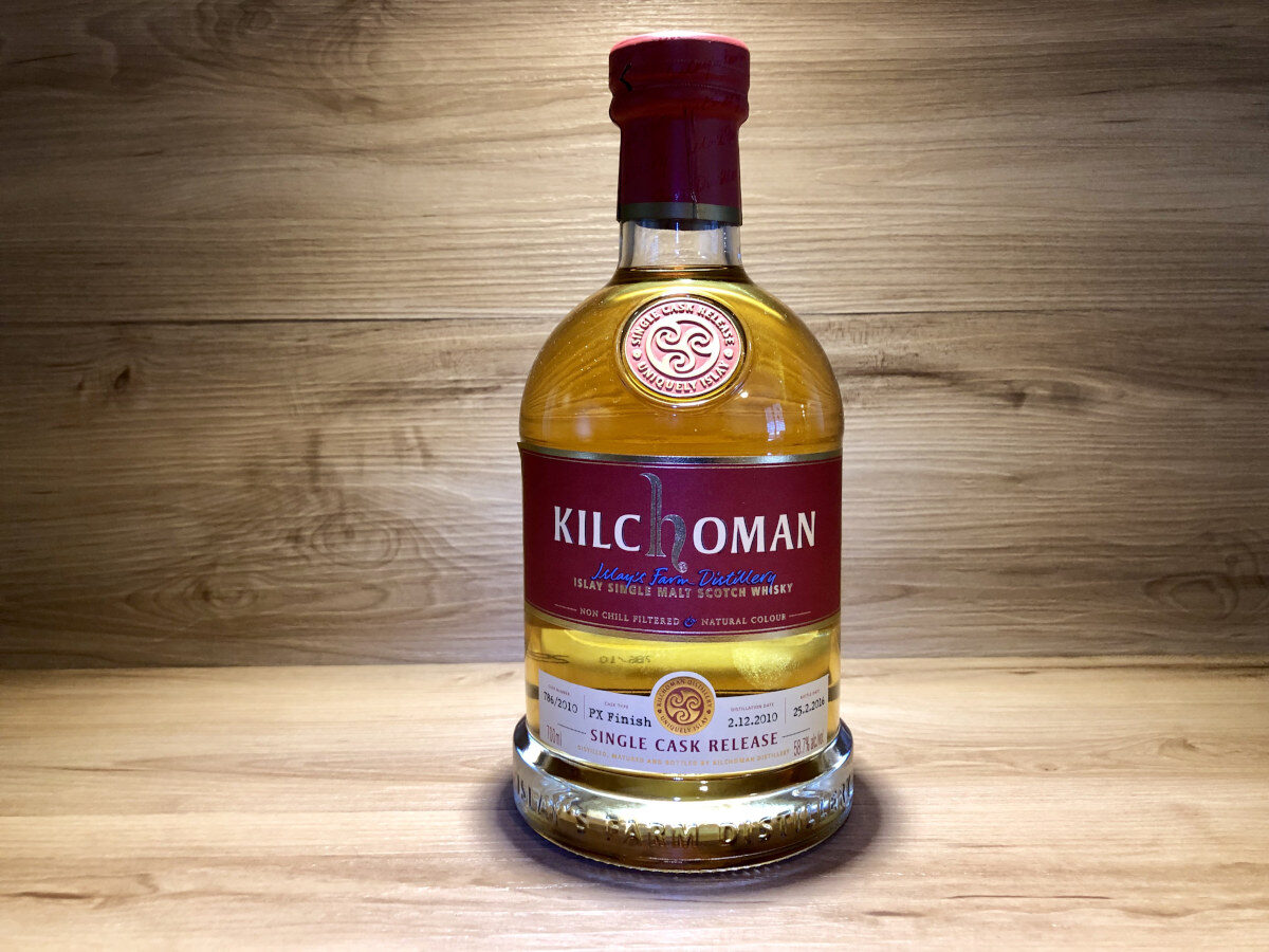 Kilchoman, PX Sherry, Paul Ullrich, limited edition