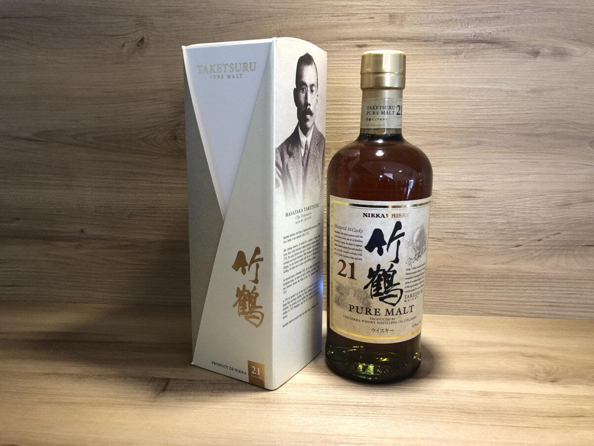 ScotchSense, Nikka Taketsure 21, Pure Malt, japanische Whisky Rarität, japanisches Tastingset bei ScotchSense bestellen