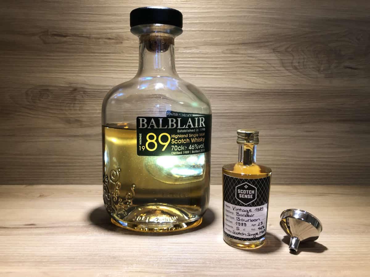 Balblair 23 Jahre Vintage 1989 Scotch Sense Whisky
