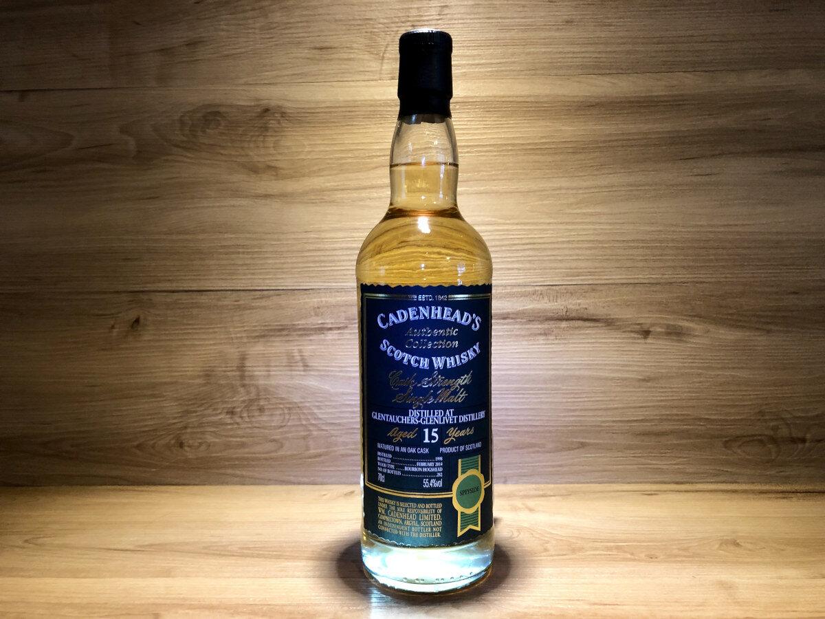 Glentauchers 1998 15y whisky Cadenheads