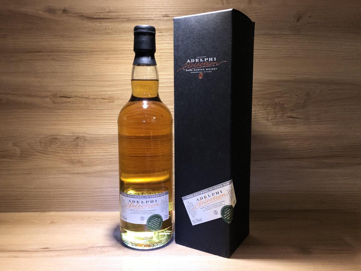 Aultmore 2000 18y, ScotchSense, Adelphis, Sherry Cask, schottischer Whisky kaufen, Speyside, Whisky online teilen, Whisky Tastingset kaufen, Whisky Geschenkset kaufen, Probierflaschen, Whisky Raritäten kaufen
