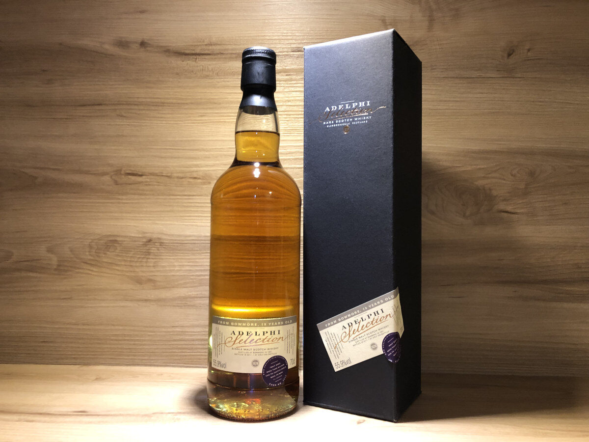ScotchSense, Bowmore 19y, Adelphi's, SherryCask, schottischer Whisky, Whisky Tastingset, Probierflaschen