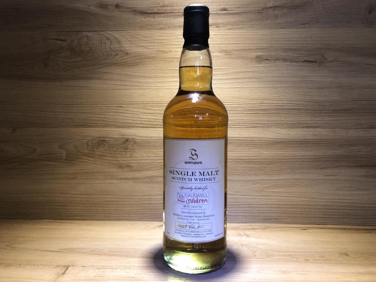 Springbank Caudwell 11y, ScotchSense, Special Bottling, Caudwell Children charity, Schottischer Whisky online kaufen und teilen, Whisky Tasting Set kaufen, Whisky Japan