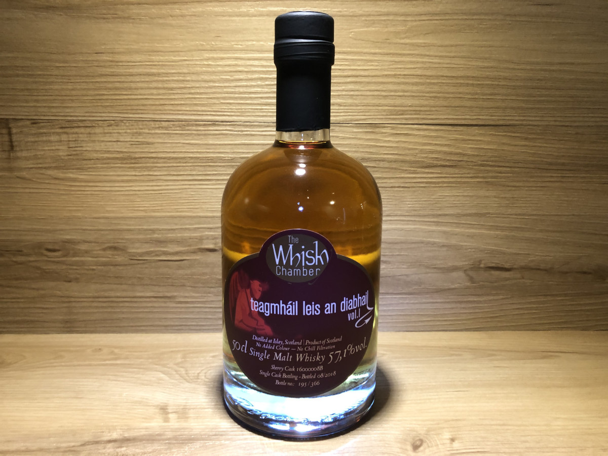 Caol Ila Sherry, Scotchsense, Hauch des Teufels, teagmhàil leis an diabhail, WhiskyChamber, schottischer Whisky online kaufen, Tasting Set online kaufen