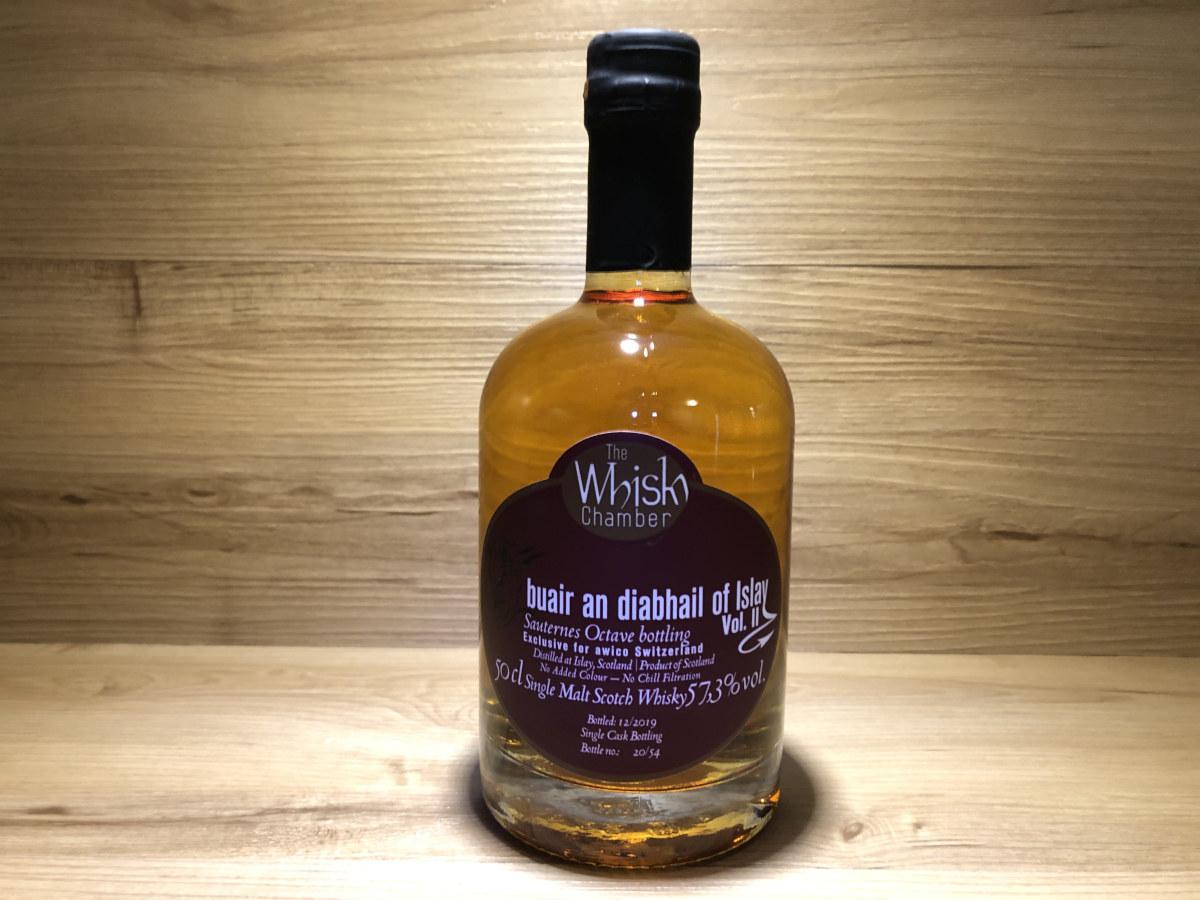 Lagavulin Sauternes, Scotchsense, Sauternes Octave Bottling, Buair an diabhail, Teufel, WhiskyChamber, schottischer Whisky online kaufen, Tasting Set online kaufen