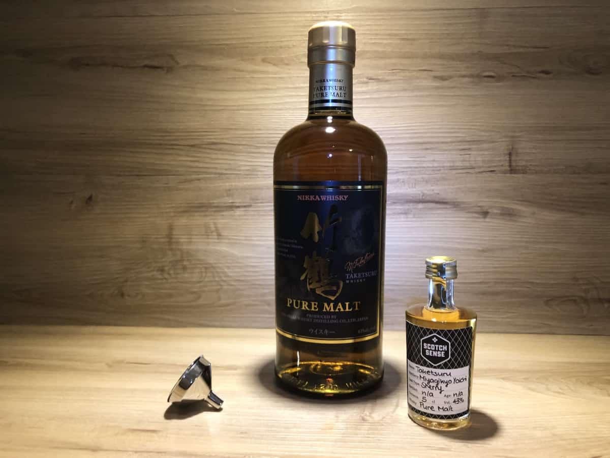Probierflasche Nikka Taketsuru Pure Malt kaufen, japanisches Whisky Tastingset bei Scotch Sense kaufen