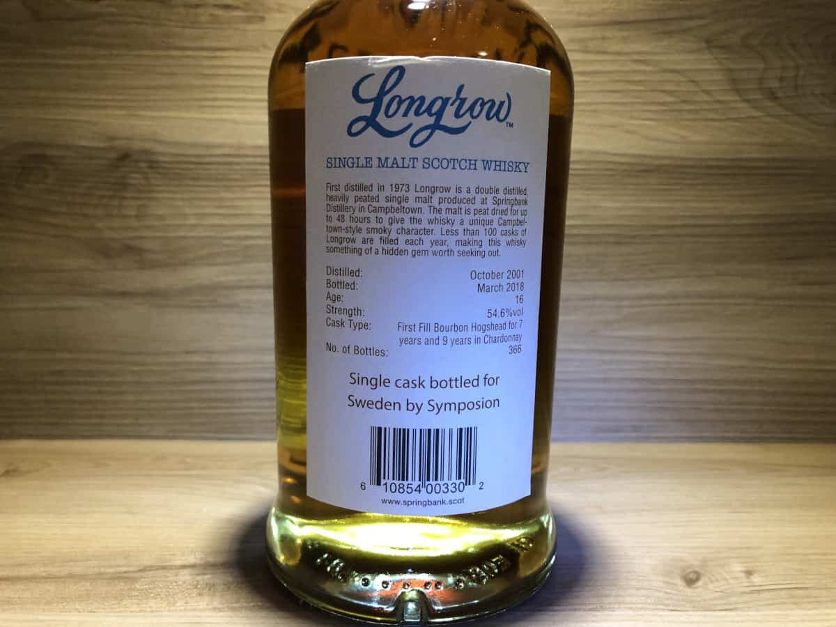 Longrow 16 Sweden by Symposion, Scotch Sense, schottischer Whisky kaufen