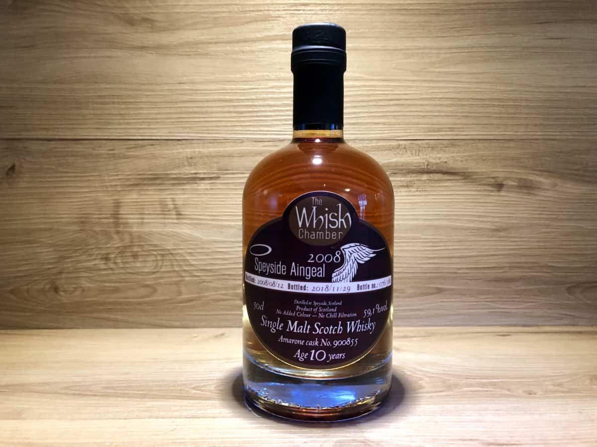 ScotchSense, Speyside Aingeal 10Jahre, Amarone Single Cask, The Whisky Chamber, schottischer Whisky kaufen