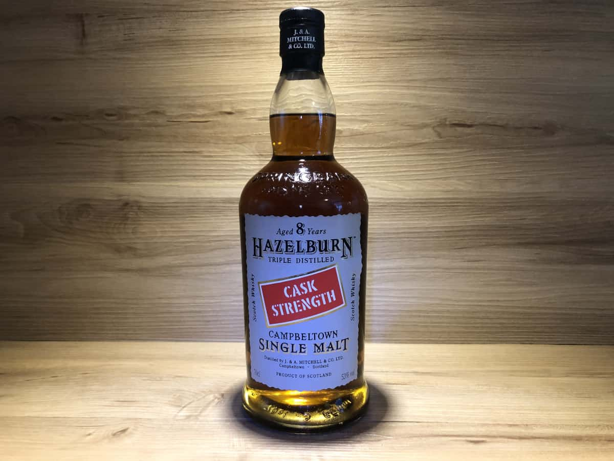 Hazelburn Cask Strength, 53%, Japan Shinanoya Tokyo, schottischer Whisky kaufen, Whisky Tastingset Japan kaufen, Whisky Raritäten Japan