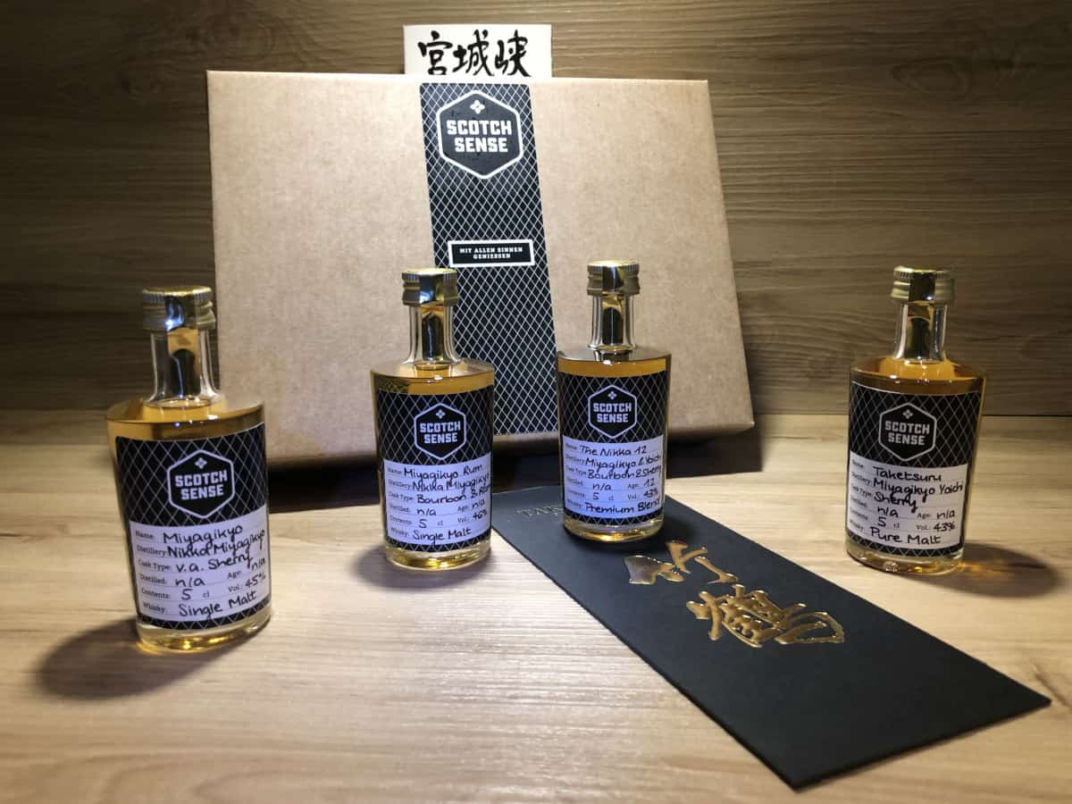 Whisky Tasting Set Japan, Probierset, Scotch Sense, japanischer Whisky, Whisky Schottland, Whisky Japan