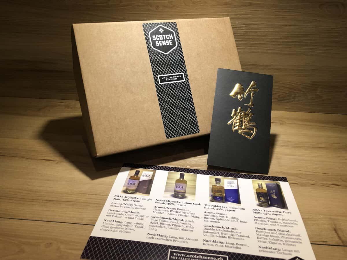 Whisky Tasting Set Japan, Probierset, Scotch Sense, japanischer Whisky, Whisky Schottland, Whisky Japan