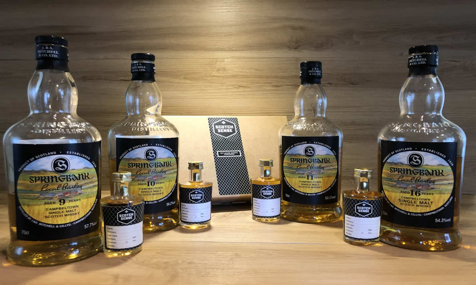 Springbank Local Barley Tasting Set Scotch Sense Whisky kaufen