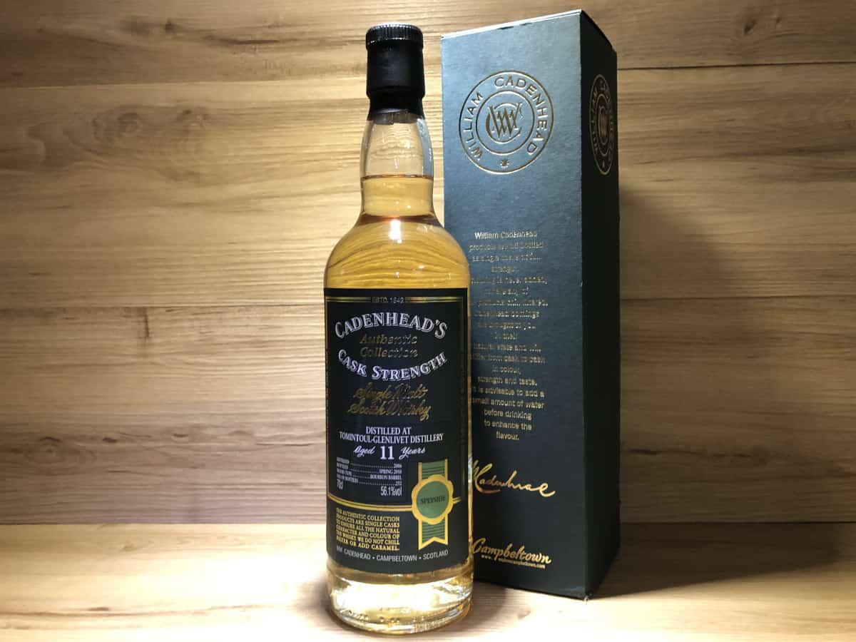 Tomintoul Cadenhead, Glenlivet, 11Jahre, Bourbon Cask, schottischer Whisky online kaufen, Whisky Tasting Set online kaufen bei Scotchsense
