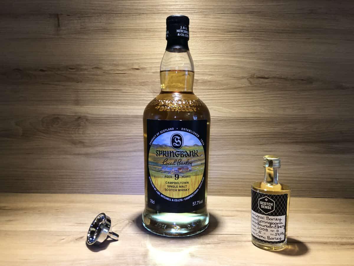 ScotchSense Whisky Probierflasche Local Barley 9Jahre, Springbank Whisky kaufen