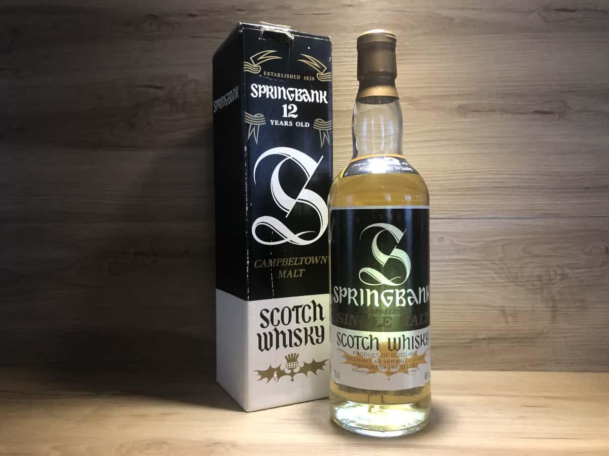 Springbank Black Label, 12_Jahre, 1980, Whisky Raritäten kaufen bei Scotchsense