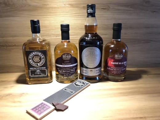 Tasting Set Whisky & Grand Cru Schokolade Sambirano