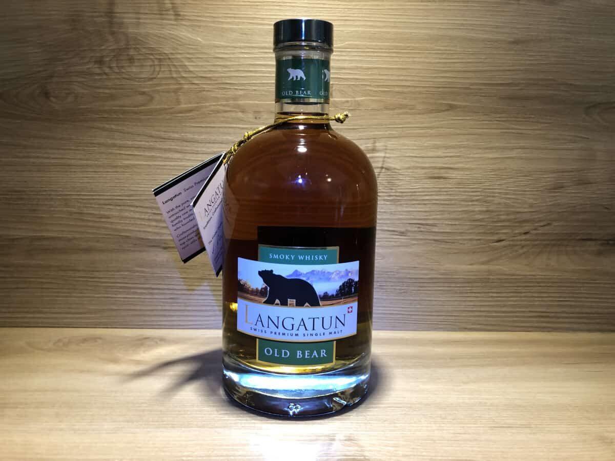 Probierflasche Langatun Old Bear Smoky Whisky, Scotch Sense Whisky online teilen und kaufen, Persönliches Whisky Tasting Set