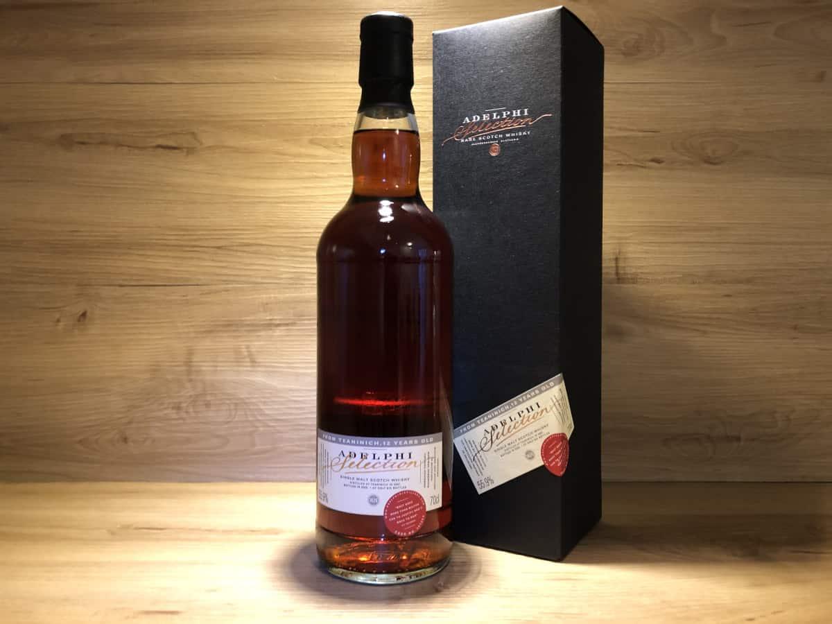 Teaninich Adelphi Dark Sherry, 12 Jahre, 55.9, Raritäten, Whisky Tasting Set bei Scotchsense kaufen