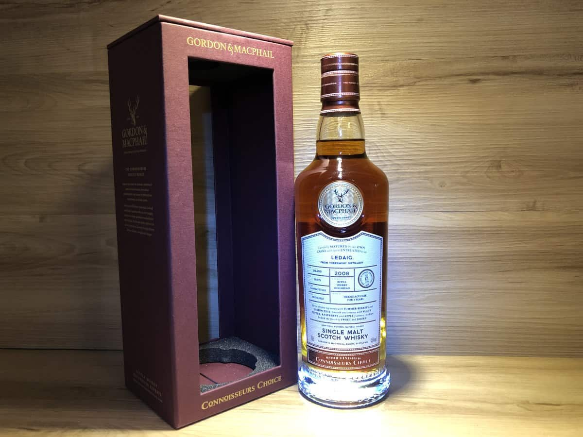 Ledaig_12_Gordon&Mcphail_Hermitage_Finish_Scotch_Sense_Raritäten_kaufen
