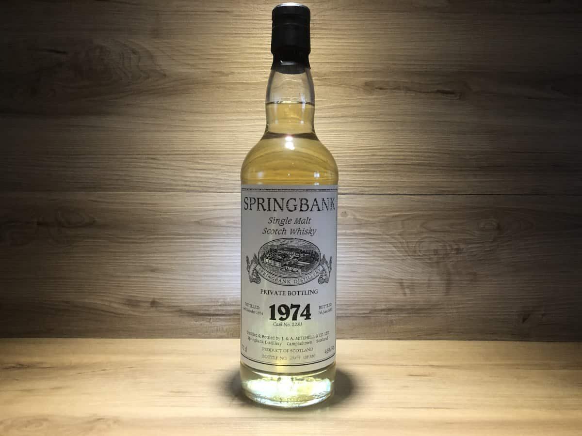 Springbank 1974 28 Jahre, Whisky Raritäten bei Scotchsense kaufen