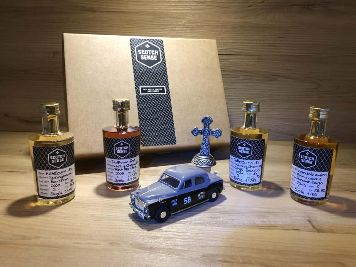 Whisky Tastingset Regionen Schottland IV, Whisky Geschenkset online kaufen, ScotchSense Whisky Raritäten online kaufen