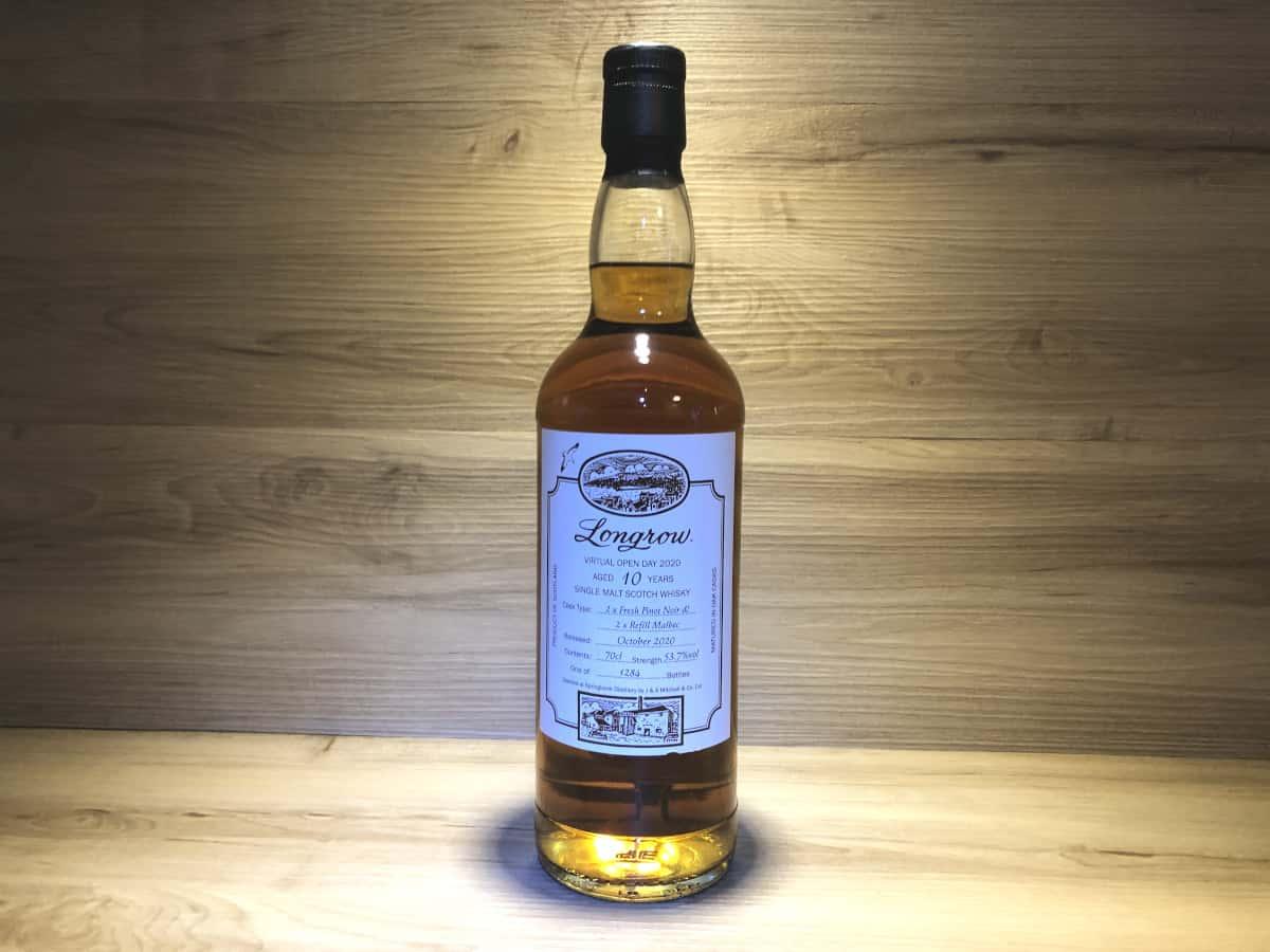 Longrow Virtual Open Day 10Jahre, Whisky Geschenkset Regionen kaufen, Scotch Sense Tastingset