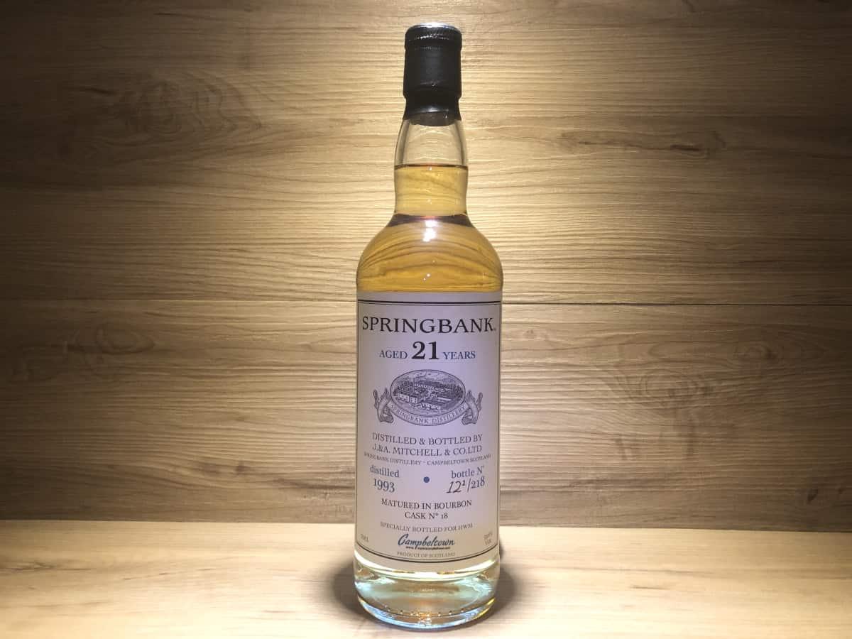 Springbank 1993 21Jahre Bourbon Cask, Private Bottling, Raritäten bei Scotch Sense kaufen und teilen