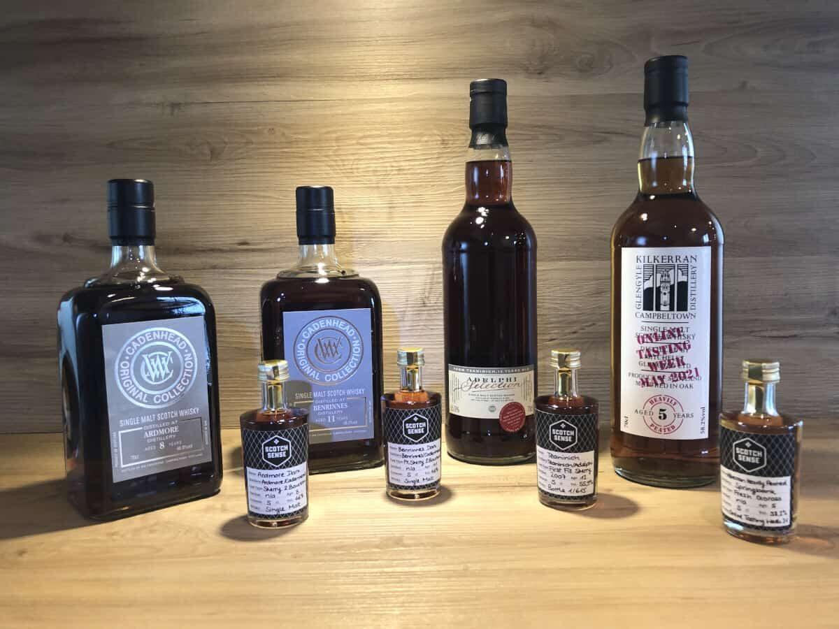 Whisky Set Dark Sherry, Episode I, Ardmore 8 Cadenheads Sherry, Whisky Geschenkset bei Scotch Sense kaufen