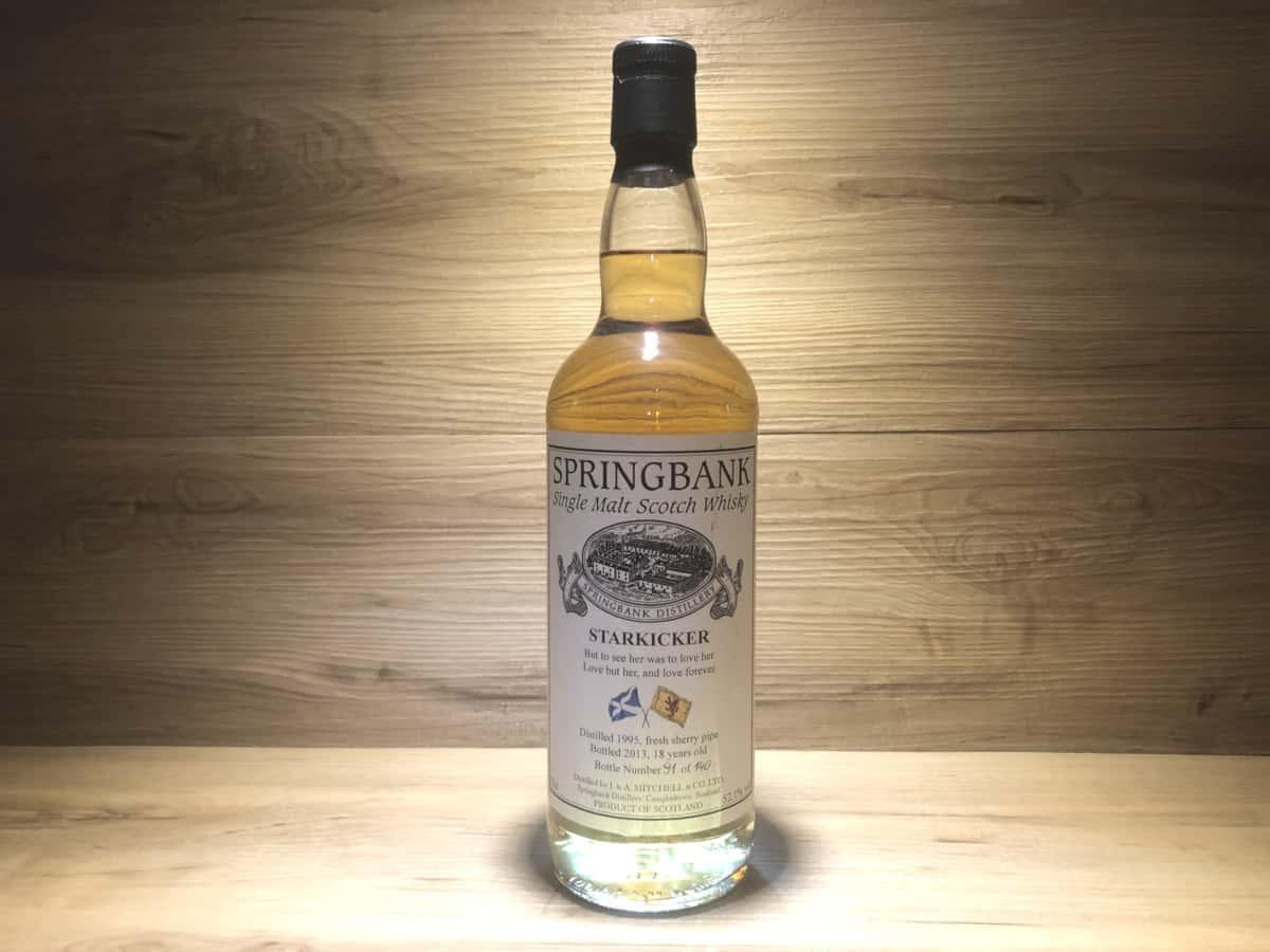 Springbank Starkicker 1995 Fresh Sherry Pipe, 18 Jahre, Whisky Raritäten bei Scotch Sense kaufen
