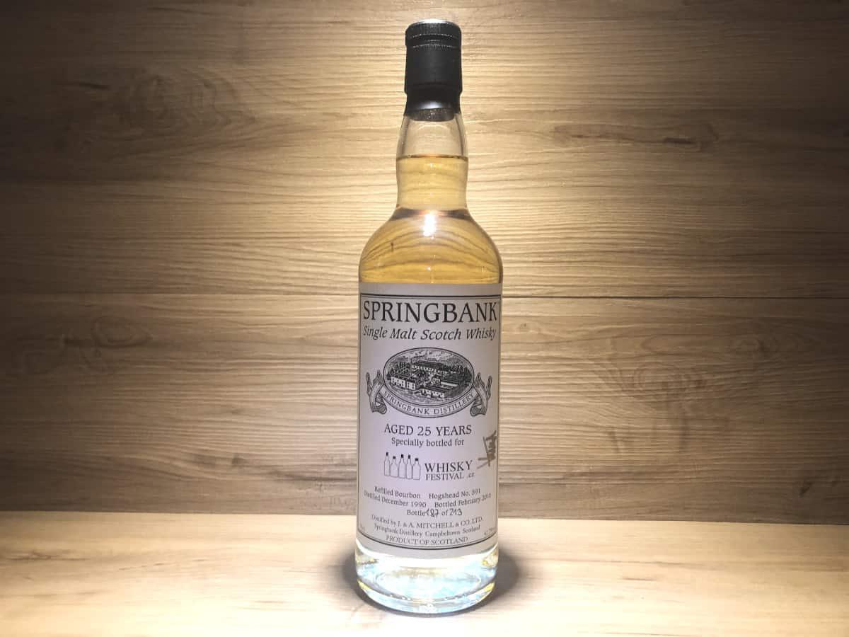 Springbank 1990 25 Jahre Whisky Festival CZ, Scotch Sense Raritäten kaufen und teilen, Whisky Tasting Set