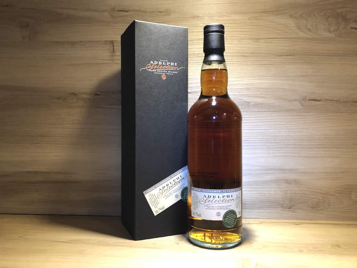 Inchgower PX Sherry 13 Jahre 58.7%, Scotch Sense Whisky online teilen und kaufen, Whisky Tastingset Dark Sherry