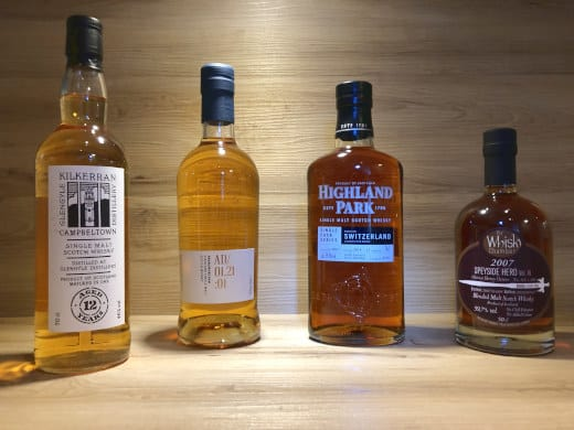 Whisky Tastingset Regionen V Scotch Sense Whisky online teilen und kaufen