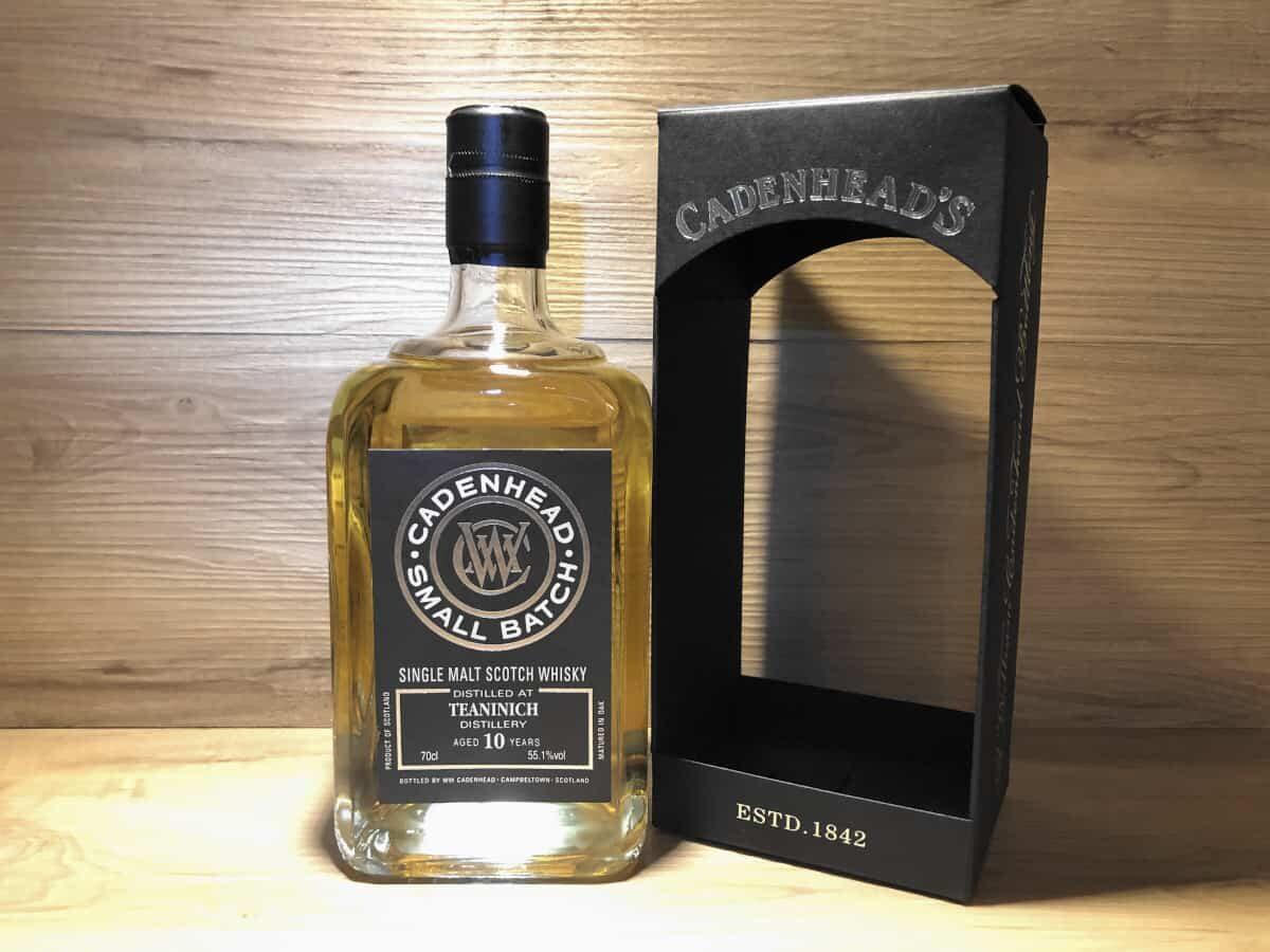 ScotchSense Probierflasche Teaninich 10 Cadenhead, Persönliches Whisky Tastingset bei Scotchsense kaufen, Whisky online teilen und kaufen